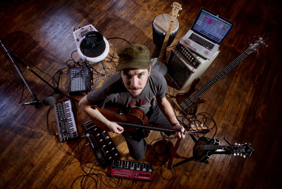 Multi-instrumentalist Ryan Herr; photo by Mollie Hull; seenimagery.com
